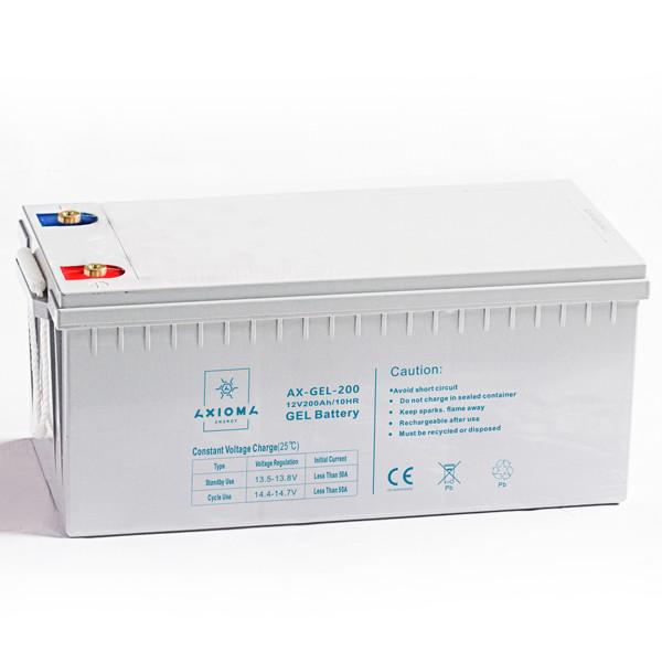 Аккумуляторная батарея гелевая AX-GEL-200 12В 200Ач AXIOMA energy