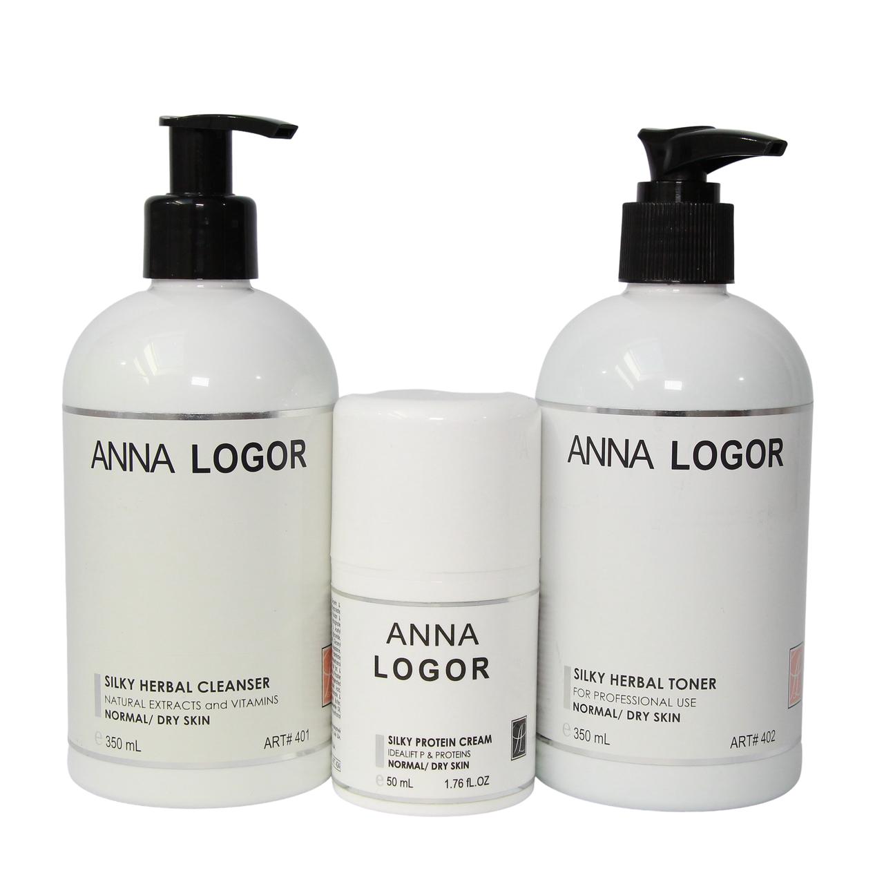 Набор косметики Anna LOGOR Серия для сухой кожи лица Art.401 424