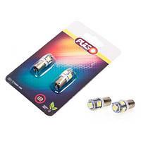 Лампы PULSO/габаритные/LED T8.5/5SMD-5050/12v1.0w White (LP-90155)