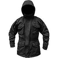 """Куртка милитари """"М65"""" BLACK (На флисе), фото 2"""