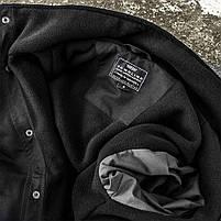 """Куртка милитари """"М65"""" BLACK (На флисе), фото 7"""