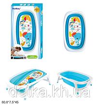 Ванночка дитяча для купання дитини, блакитна