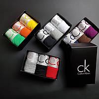 Мужские трусы Calvin Klein 3 шт | Чоловічі труси боксери Келвин кляйн хлопок набор