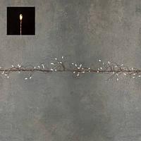 """Гірлянда-кластер, мідна струна, """"Luca"""", 11 м, теплий білий"""