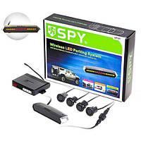 Парктроник SPY LP-121/LED/4 датчика D=18mm/коннектор/Radio/black (LP-121)