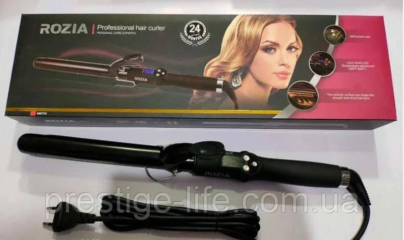 Плойка для завивки волос Rozia HR-772 (диаметр 28 мм)