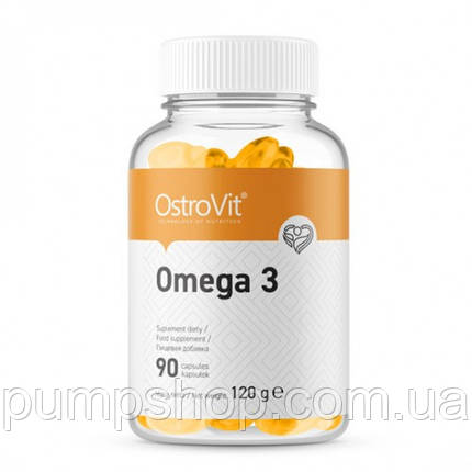 Омега-3 Ostrovit Omega-3 90 капс., фото 2