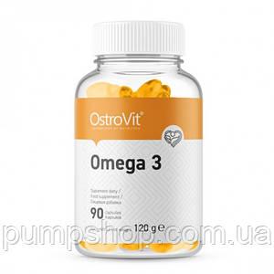 Омега-3 жирные кислоты Ostrovit Omega-3 90 капс.