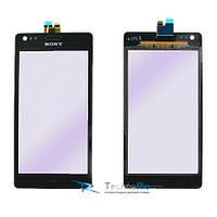 Тачскрин Sony Ericsson C1904/C2004/C2005/C1905/XPERIA M Черный