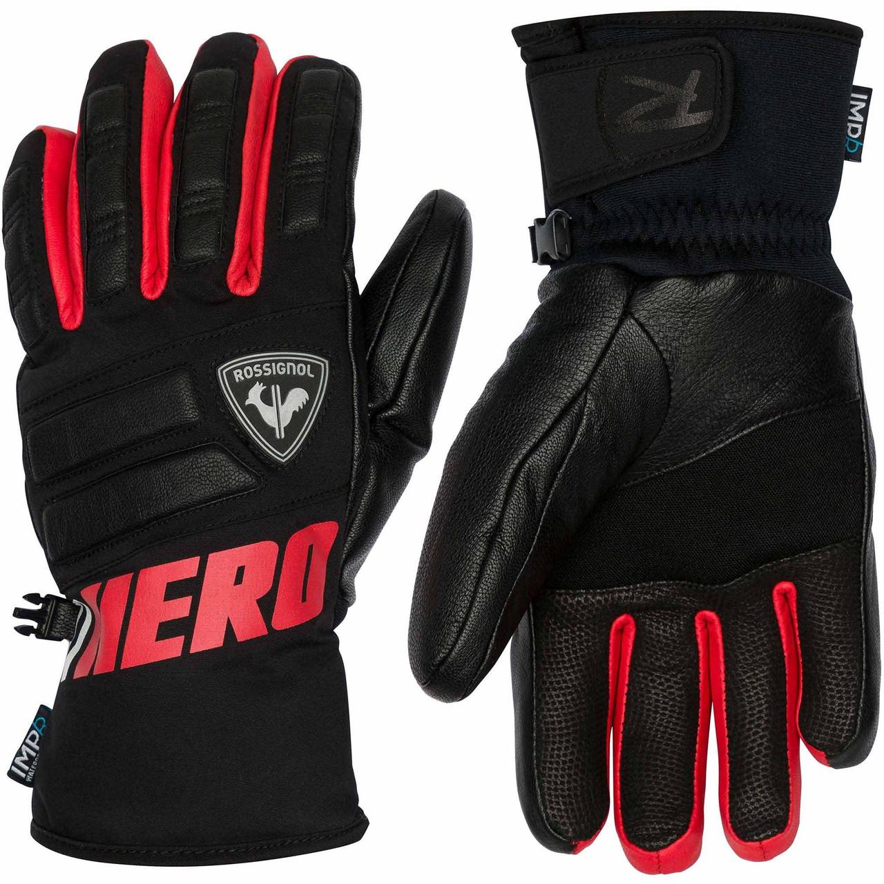 Горнолыжные перчатки ROSSIGNOL WC MASTER IMPR red  р XXL