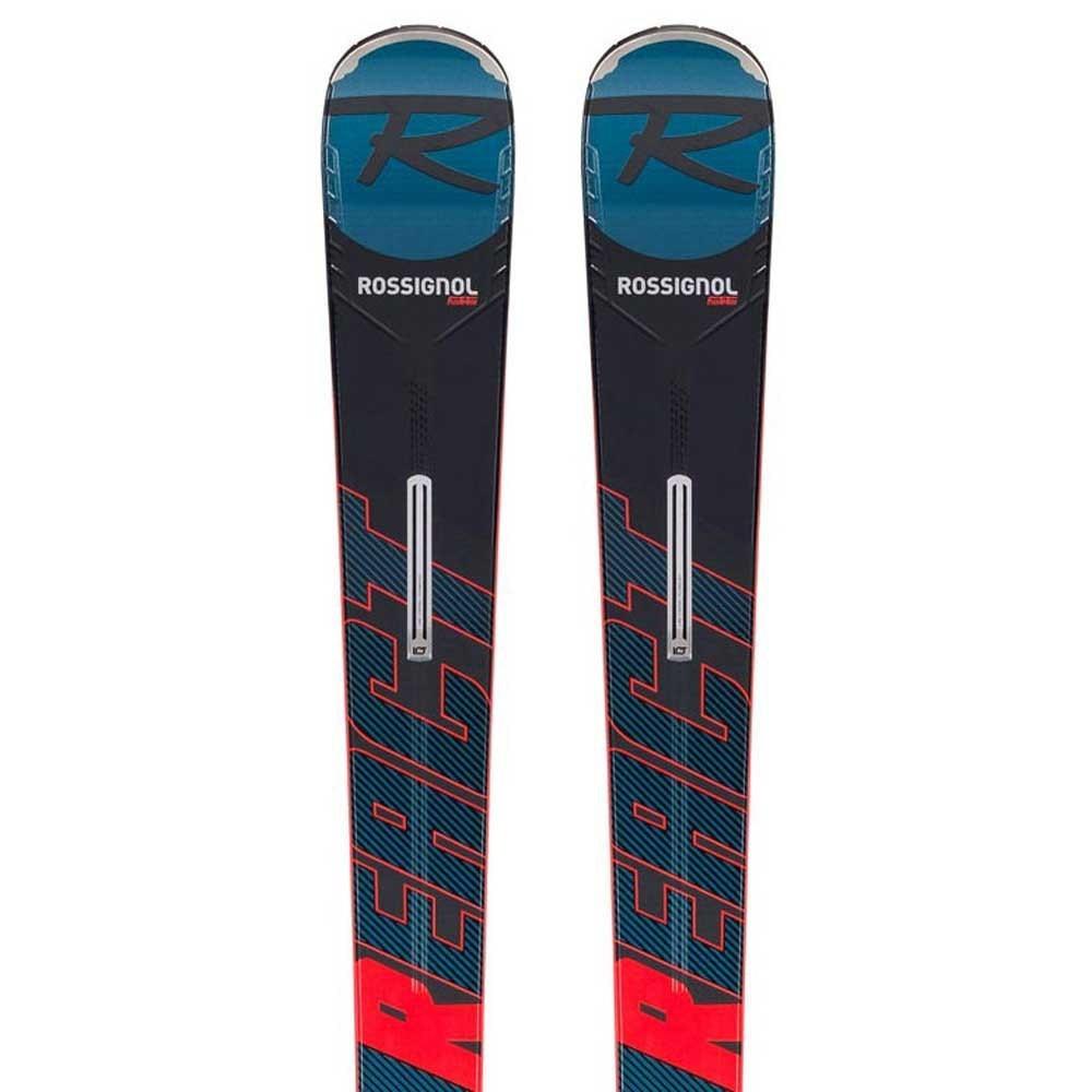 Горные лыжи REACT R8 TI + крепления SPX12 K.GW BK/RED 176