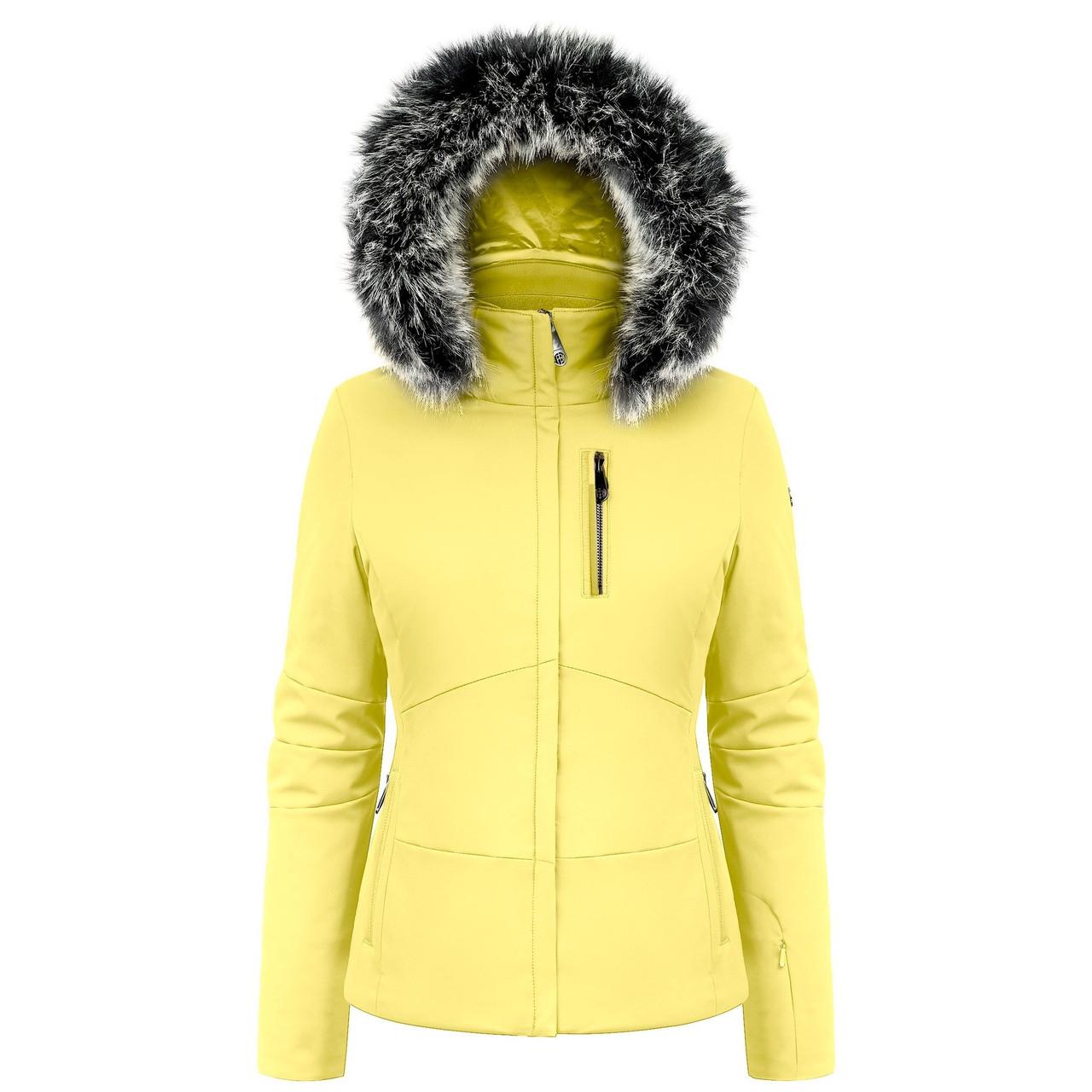 Горнолыжная куртка Poivre Blanc Stretch ski jaket Aurora Yellow р L
