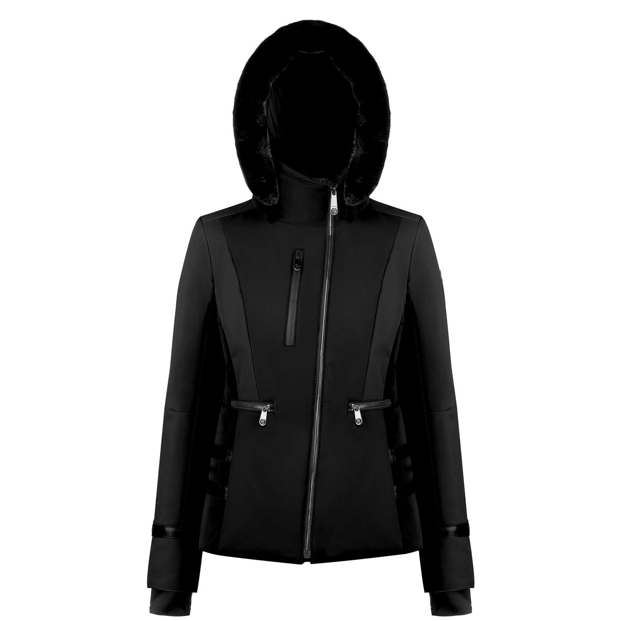 Горнолыжная куртка Poivre Blanc  Stretch ski jaket  with satin effect Black р. S