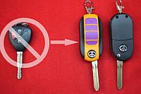 Выкидной ключ Toyota 2+паника кнопки. Для переделки вид ORANGE