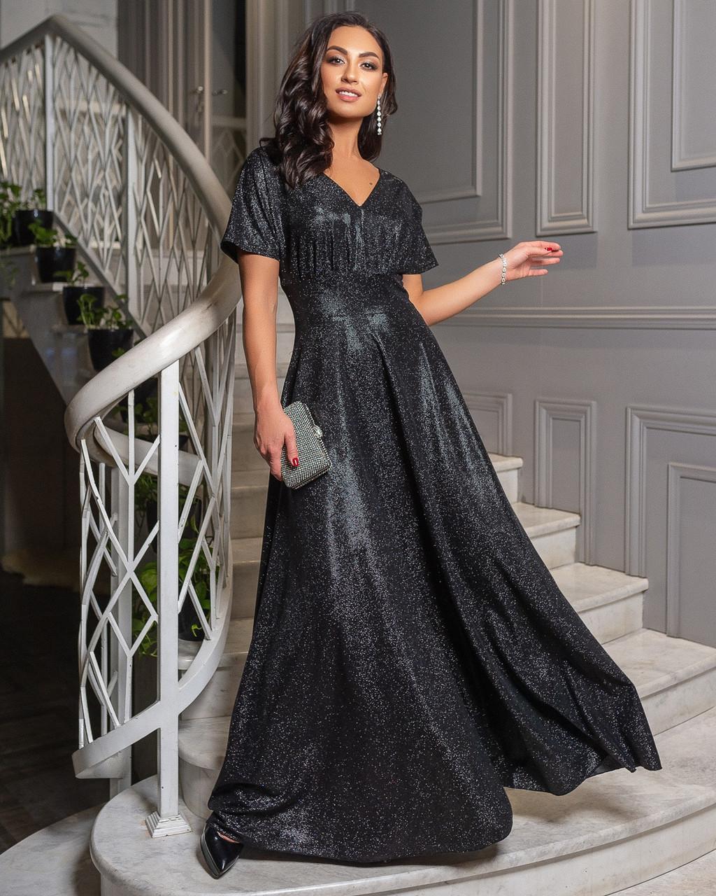 Платье черное вечернее
