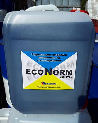 Антифриз для систем отопления Econorm -40C, кан 10л фирменная, фото 2