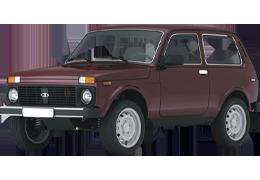 Підкрилки для ВАЗ/LADA Niva 2121-21314 -2018