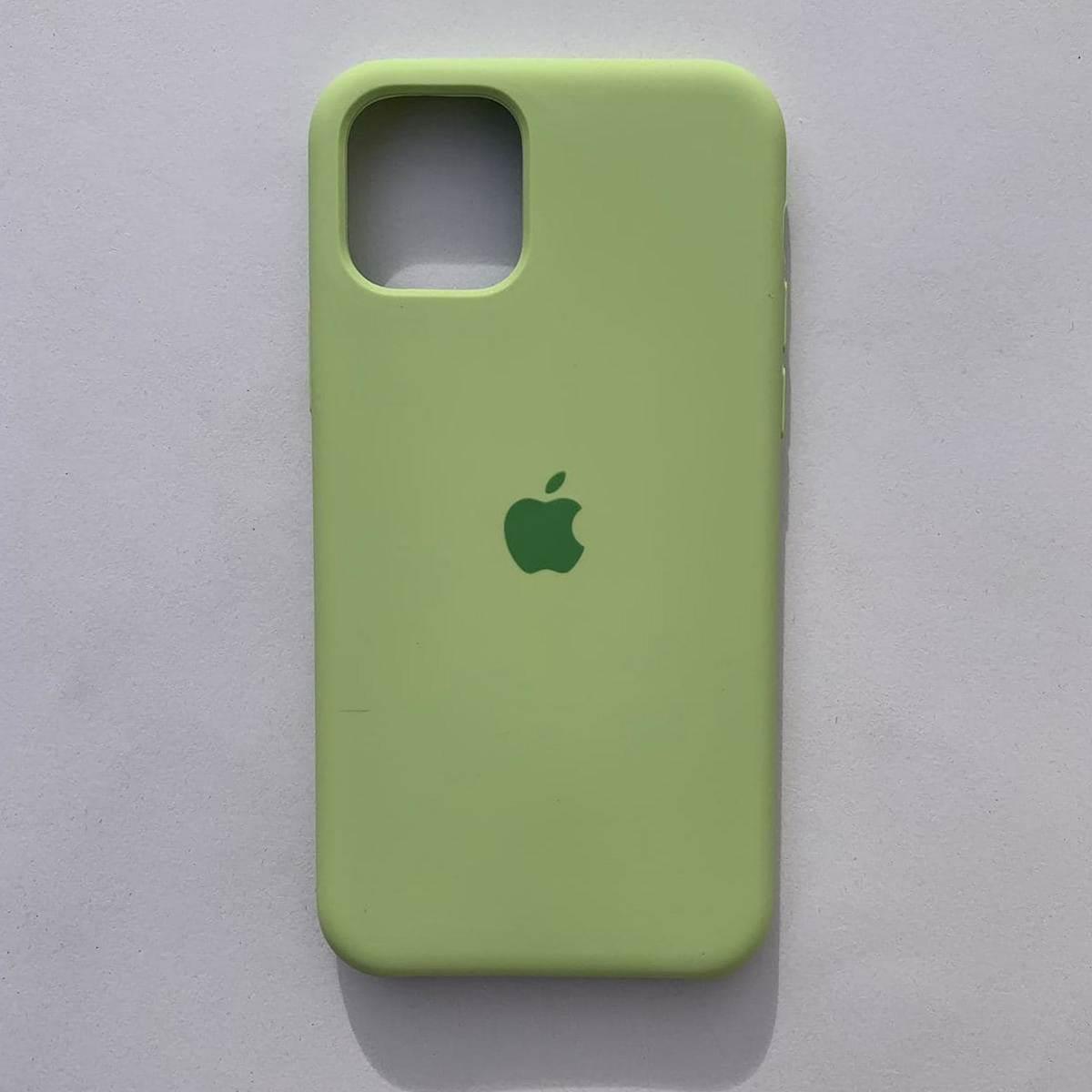 Чехол Silicone Case для Apple iPhone 11 Avocado