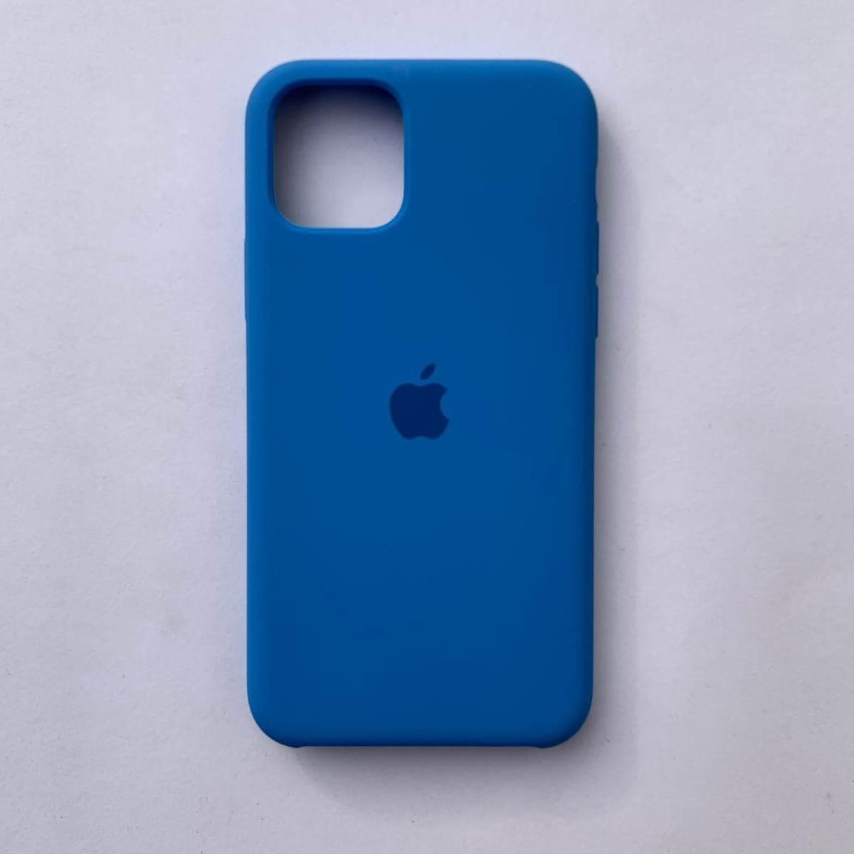 Чехол Silicone Case для Apple iPhone 11 Blue Cobalt