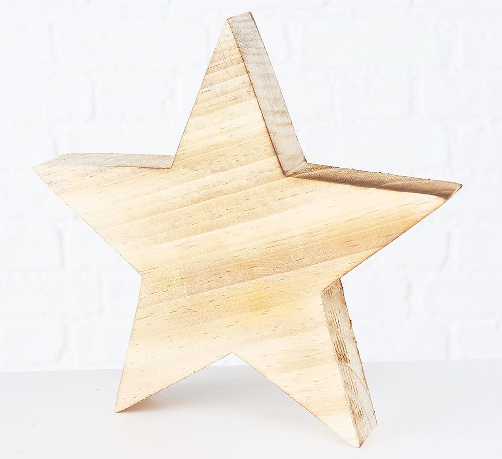 Новогодняя звезда дерево 20см Boltze 2003021