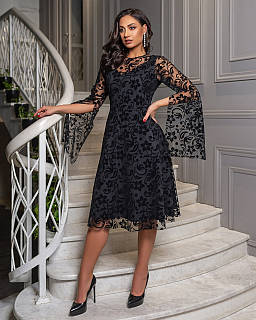 Плаття жіноче чорне