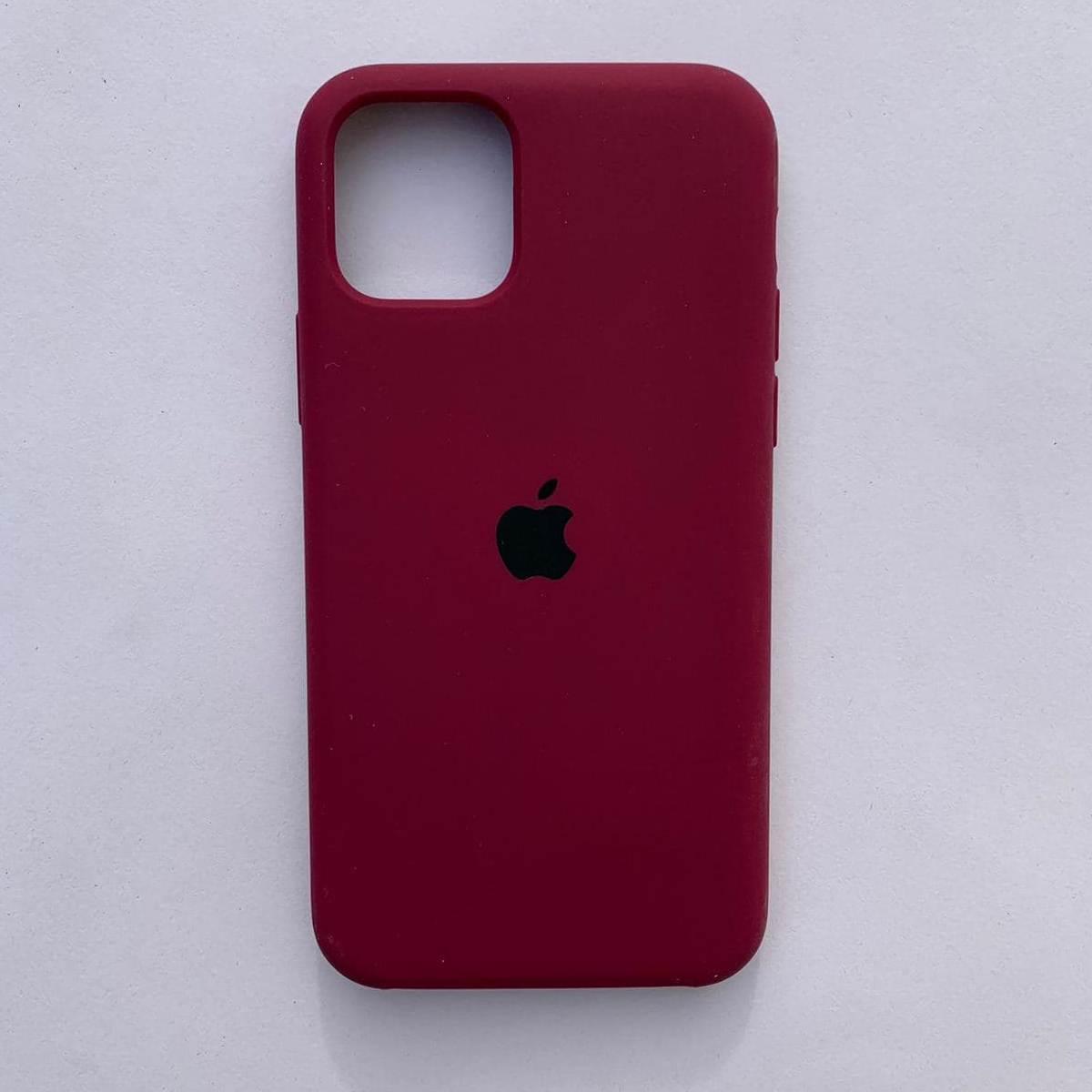 Чехол Silicone Case для Apple iPhone 11 Cherry