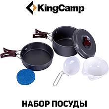 Набор туристической посуды KingCamp Climber 1 (light grey)