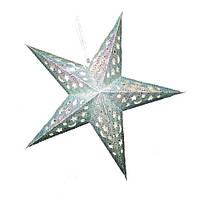 Декор подвесной бумажный Звезда 45 см