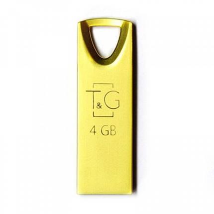 Флеш-накопитель USB 4GB T&G 117 Metal Series Gold (TG117GD-4G), фото 2