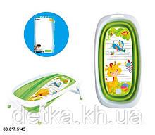 Дитяча ванночка для купання дитини,салатовий