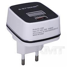 Комплект домашнього зарядного пристрою Ciyocorps ES-D28 (Micro) (2 USB) (2,4 A) - білі