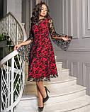 Сукня червоне, фото 3