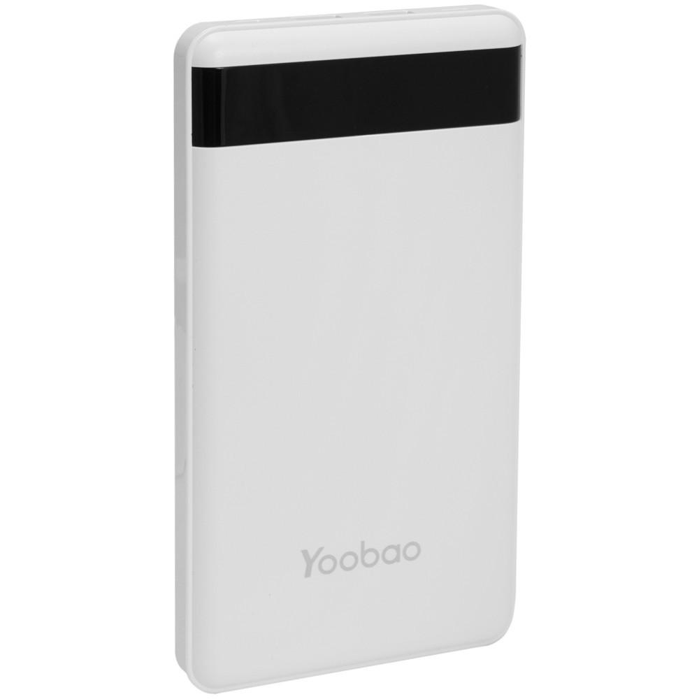 Yoobao P20000L Lithium Polymer Power Bank — 20000 mAh White