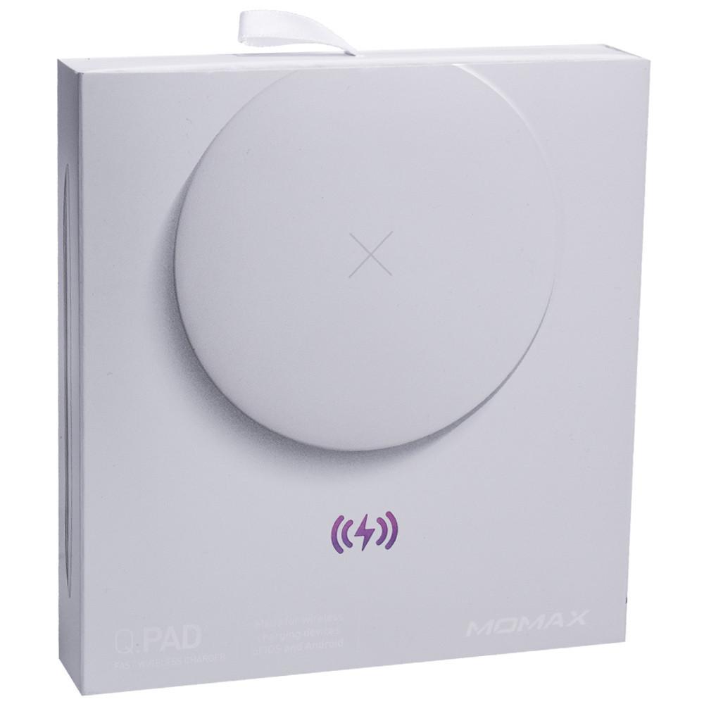Momax (UD6D) Q.Pad2 Беспроводная зарядка - Белый