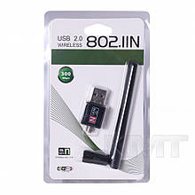 USB WiFi Wireless Adapter 802.11n/g/b 300Mbps