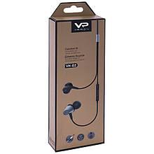 Навушники Veron (VH02) Earphones Dub (VH802) Gray
