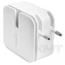 Комплект зарядного пристрою Apple Moshi Home (Lightning) (2USB) (2,1 A) - Білий