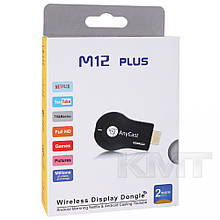 Беспроводной приемник для трансляции с экрана смартфона M12 Plus