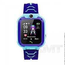 Smart Baby Watch Q20 Waterproof з GPS трекером 4G — Blue