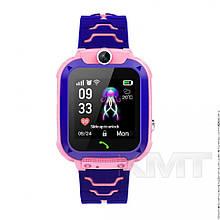 Smart Baby Watch Q20 Waterproof з GPS трекером 4G — Pink