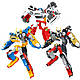 Детский игровой набор робот тобот Champion из серии \тоботы с роботом-трансформером, игровыми фигурками героев, фото 6