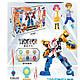Детский игровой набор робот тобот Champion из серии \тоботы с роботом-трансформером, игровыми фигурками героев, фото 7