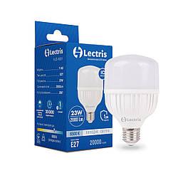 Светодиодная высокомощная лампа Lectris T80 23W 6500K 220V E27 1-LC-1601
