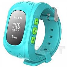 Розумні дитячі годинники Q50 з GPS трекером — Blue