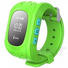 Розумні дитячі годинники Q50 з GPS трекером — Green