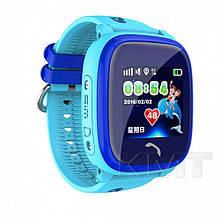 Розумні дитячі годинники DF25 водостійкі з GPS трекером — Blue