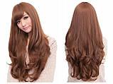 Жіноча перука довге русе волосся бронза арт.6868, фото 5