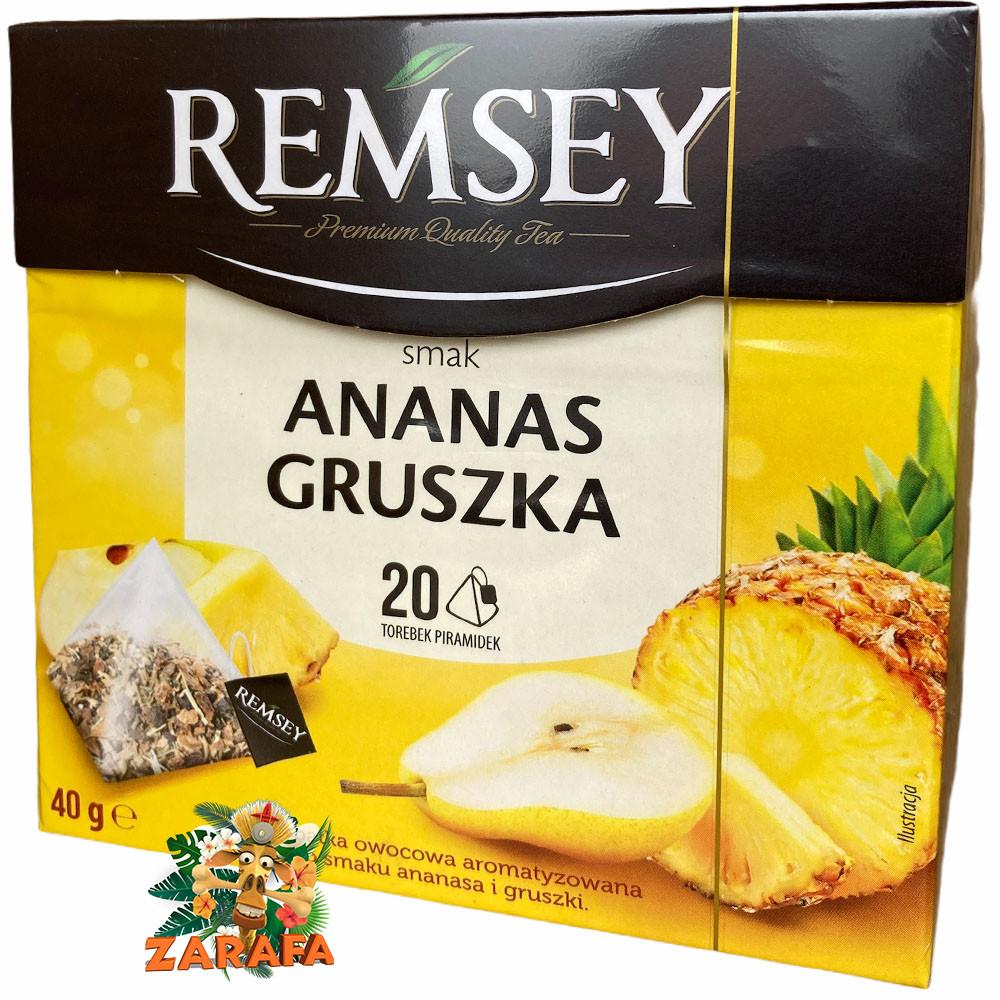 Чай фруктовый Remsey ананас и груша