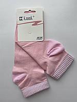 Носки женские средние c люрексовой резинкой Классик светло-розовые размер 23-25 (36-40)