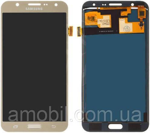 Дисплей Samsung J700 (с регулировкой подсветки TFT) J700M / J700F /J700T / J700M/DS / J7008  Galaxy J7 gold